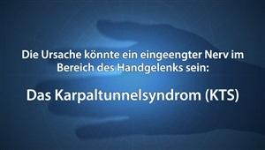 Karpaltunnel-Syndrom