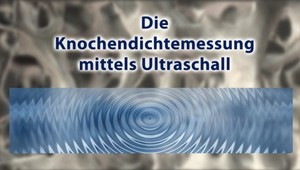 Knochendichtemessung (Ultraschall)