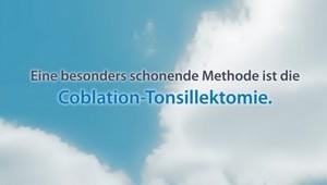 Tonsillektomie (Coblation)